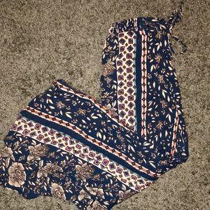 Pants - Flowy Multi-Color Pants
